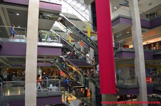 inside Multi Centro mall Panama capital