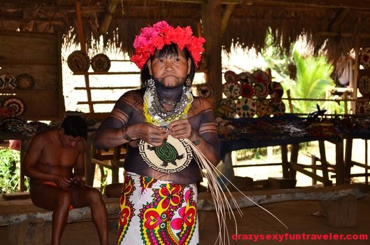 native Embera tribe Panama (23)