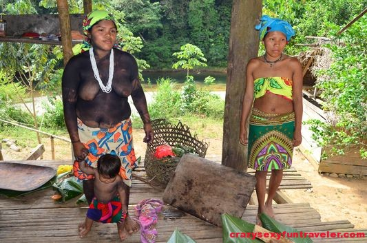 native Embera tribe Panama (37)