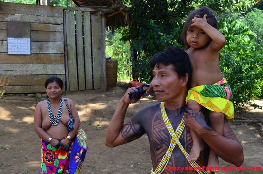 native Embera tribe Panama (80)