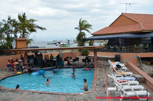 swimming pool next to Mi Ranchito Amador Causeway