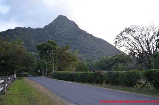 Cariguana mount in El Valle de Anton