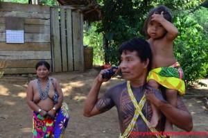 Embera tribe Panama