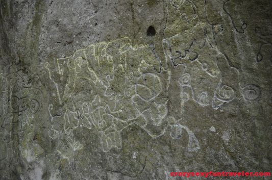 La Piedra Pintada petroglyphs (1)