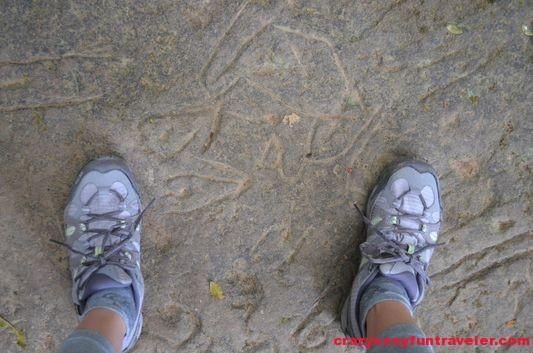 Piedra del Sapo India Dormida El Valle de Anton