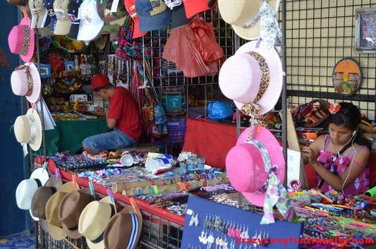 handicrafts market El Valle de Anton
