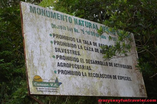 hiking Caracoral in El Valle de Anton with El Chakal (2)
