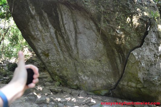 petroglyphs in El Valle de Anton