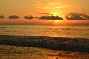 sunrise at Tamales Beach Blue Osa