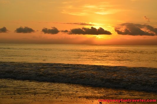 sunrise at Tamales Beach Blue Osa