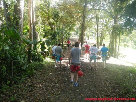 Red Frog Beach Bastimentos Sky Zipline Canopy Tour (15)