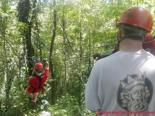 Red Frog Beach Bastimentos Sky Zipline Canopy Tour (8)