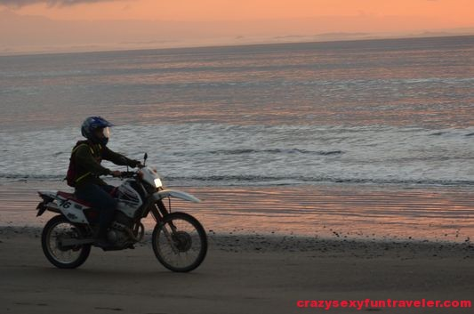 motorbike Osa Peninsula
