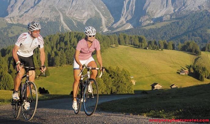 South Tyrol cycling
