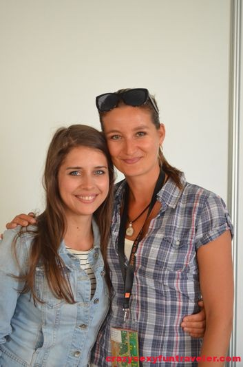 with Sima Martausova Bazant Pohoda Festival 2014