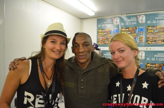 with Tricky Bazant Pohoda Festival 2014