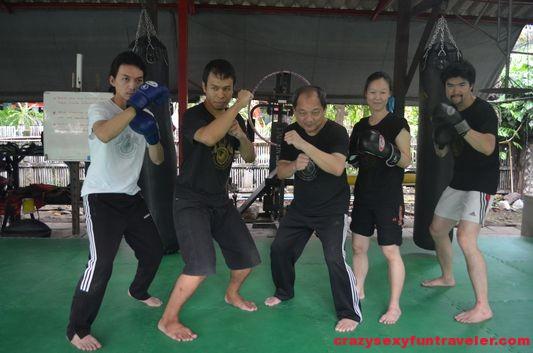 learn Muay Thai at Bann Chang Thai in Bangkok