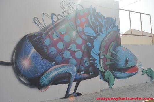 urban street art murals Isla Mujeres (2)
