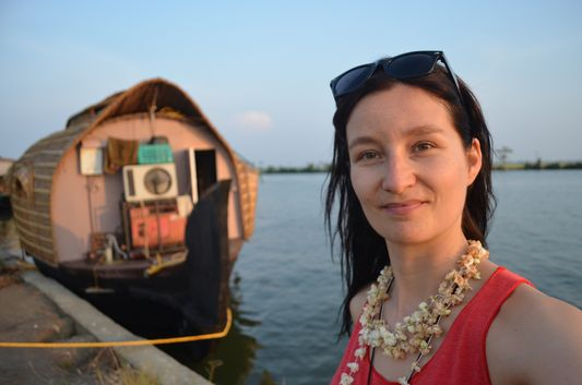 Kerala Backwaters houseboat from Kollam to Alleppey Lake & Lagoons (100)
