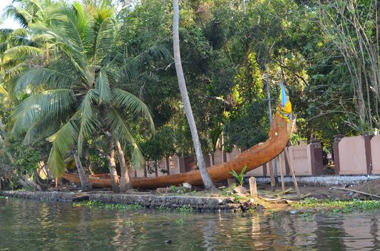 Kerala Backwaters houseboat from Kollam to Alleppey Lake & Lagoons (102)