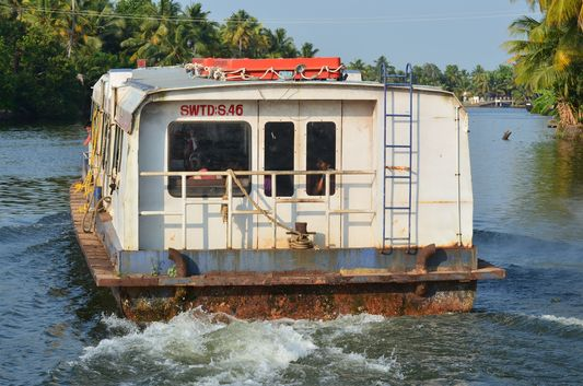 Kerala Backwaters houseboat from Kollam to Alleppey Lake & Lagoons (115)
