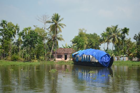 Kerala Backwaters houseboat from Kollam to Alleppey Lake & Lagoons (12)