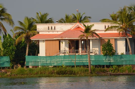 Kerala Backwaters houseboat from Kollam to Alleppey Lake & Lagoons (124)