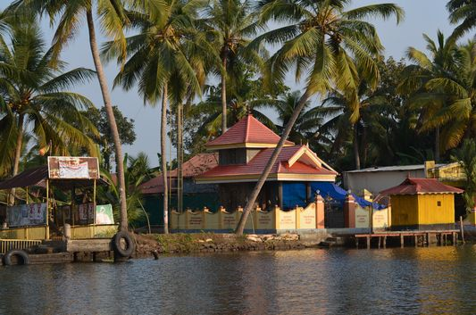 Kerala Backwaters houseboat from Kollam to Alleppey Lake & Lagoons (134)