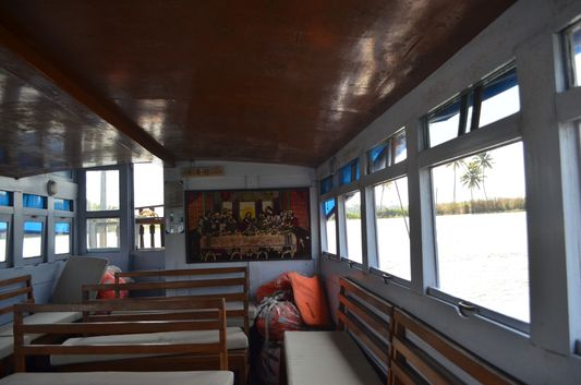 Kerala Backwaters houseboat from Kollam to Alleppey Lake & Lagoons (14)