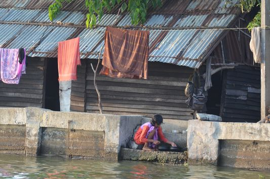 Kerala Backwaters houseboat from Kollam to Alleppey Lake & Lagoons (142)