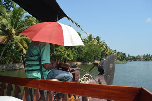 Kerala Backwaters houseboat from Kollam to Alleppey Lake & Lagoons (20)