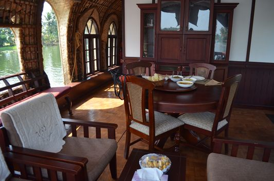 Kerala Backwaters houseboat from Kollam to Alleppey Lake & Lagoons (21)