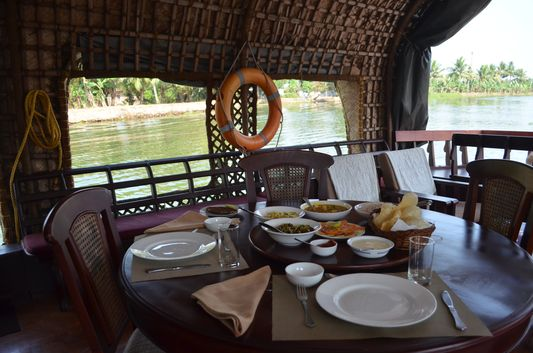 Kerala Backwaters houseboat from Kollam to Alleppey Lake & Lagoons (24)