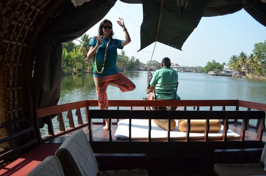 Kerala Backwaters houseboat from Kollam to Alleppey Lake & Lagoons (29)