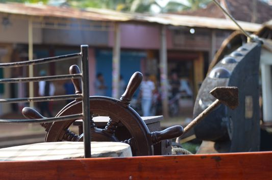 Kerala Backwaters houseboat from Kollam to Alleppey Lake & Lagoons (82)