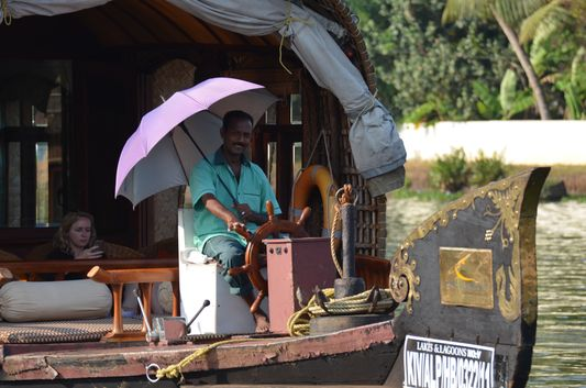 Kerala Backwaters houseboat from Kollam to Alleppey Lake & Lagoons (90)