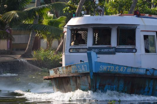 Kerala Backwaters houseboat from Kollam to Alleppey Lake & Lagoons (92)
