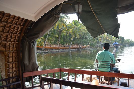 Kerala Backwaters houseboat from Kollam to Alleppey Lake & Lagoons (94)