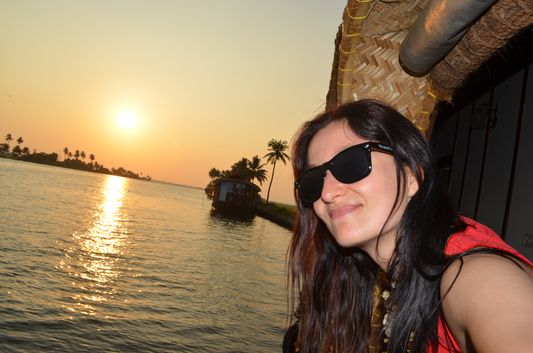 Kerala Backwaters houseboat from Kollam to Alleppey Lake & Lagoons (98)