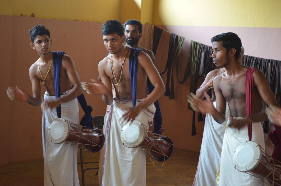 Kerala Kalamandalam dance school India (10)