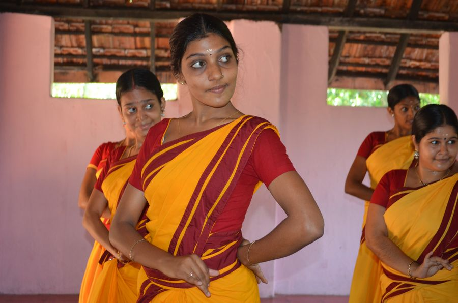 Kerala Kalamandalam dance school India (42)