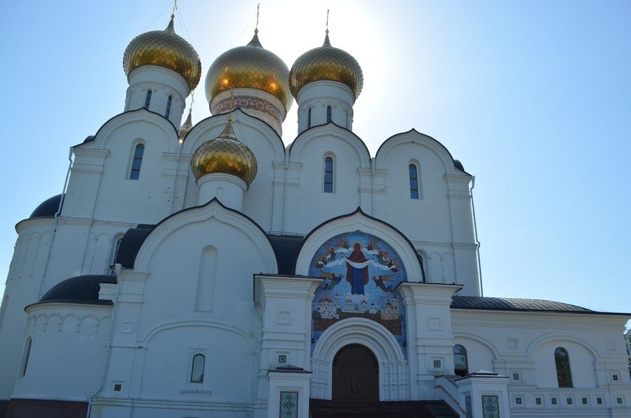 Yaroslavl Russia Cathedral of the Assumption (73)