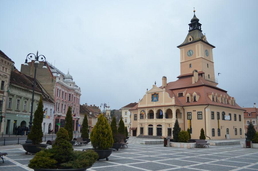 Brasov Town Romania