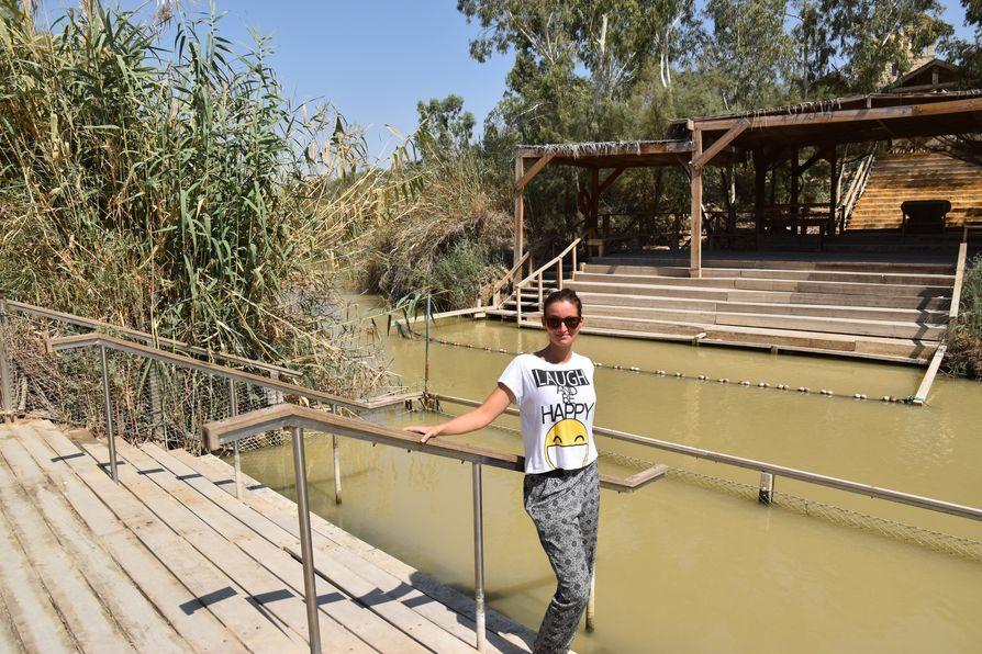 Jesus baptism site Jordan river Qasr el Yahud (2)