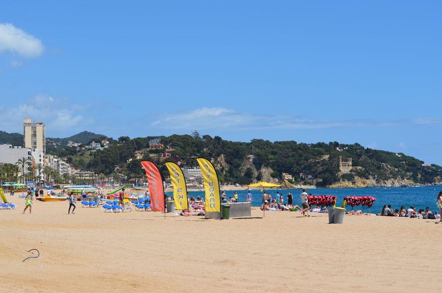 Lloret de mar beach (2)