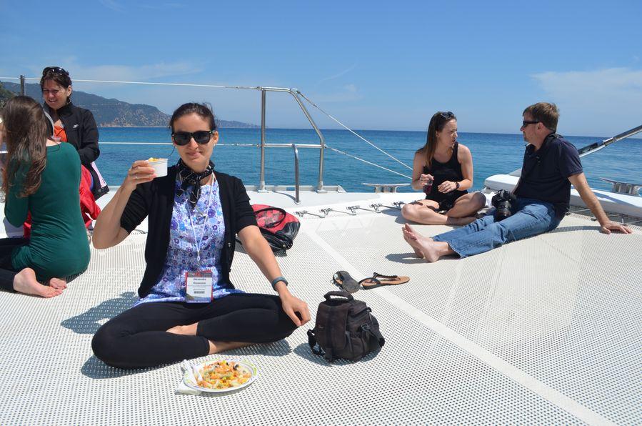 catamaran sailing Lloret de mar (2)