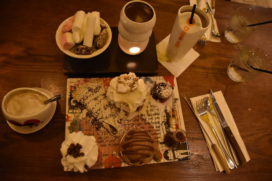 chocolate in Max Brenner Tel Aviv (1)