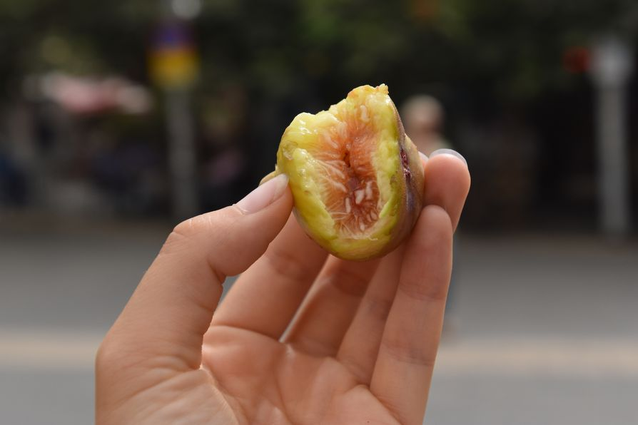 fresh fig Carmel market Tel Aviv