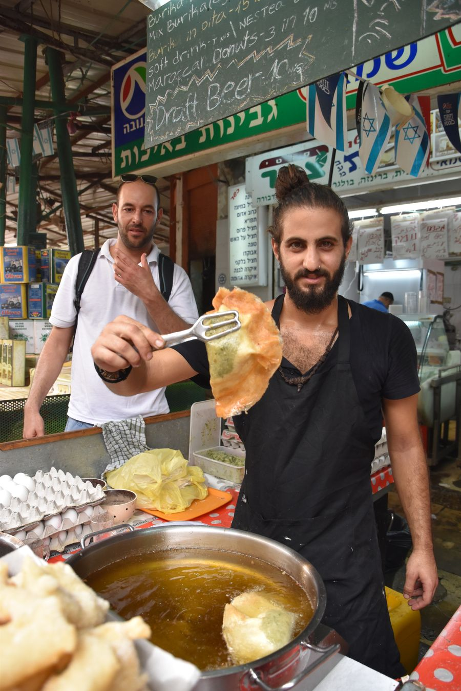 vegan Burika Center Carmel Market Tel Aviv (2)