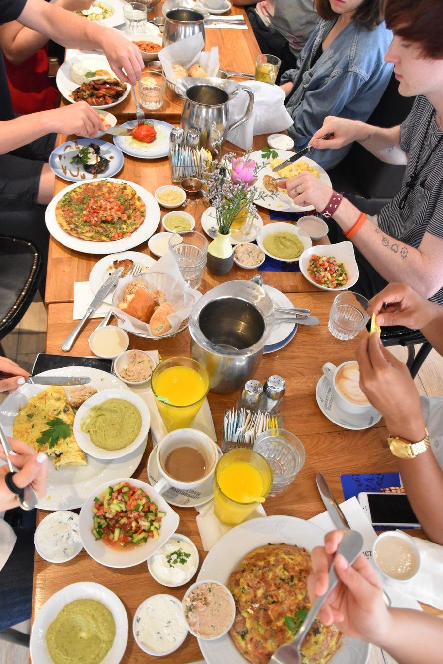 vegan breakfast Benedict Tel Aviv (1)